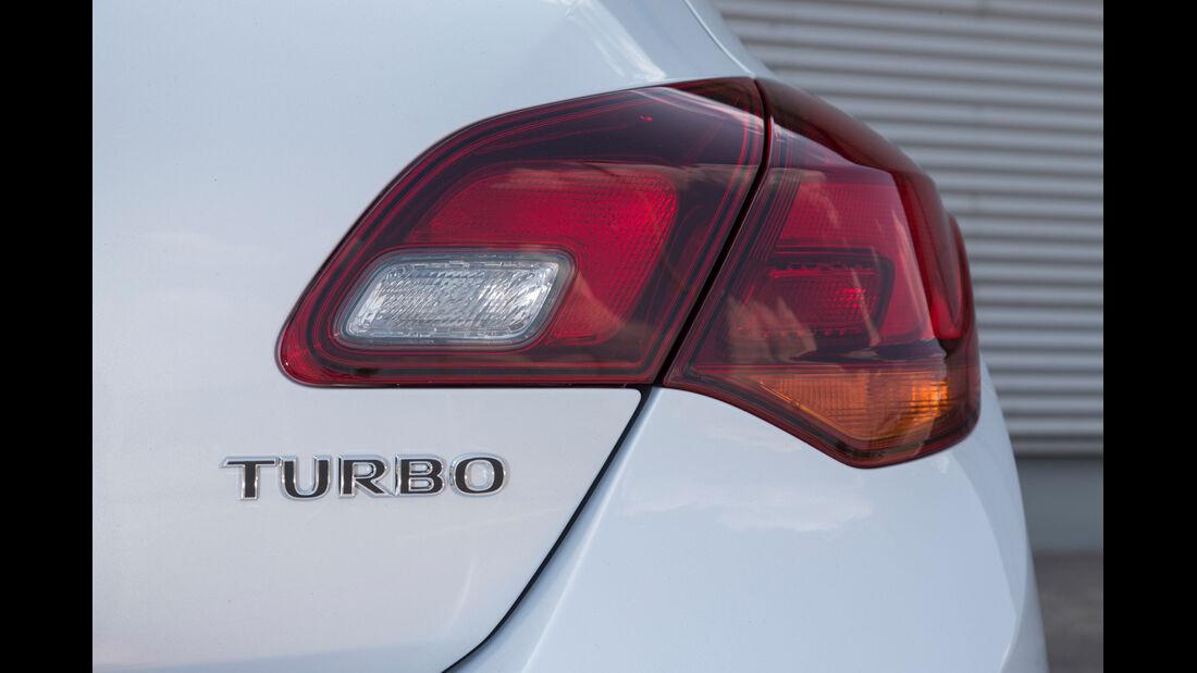 Opel Astra 1.6 SIDI Turbo, Heckleuchte