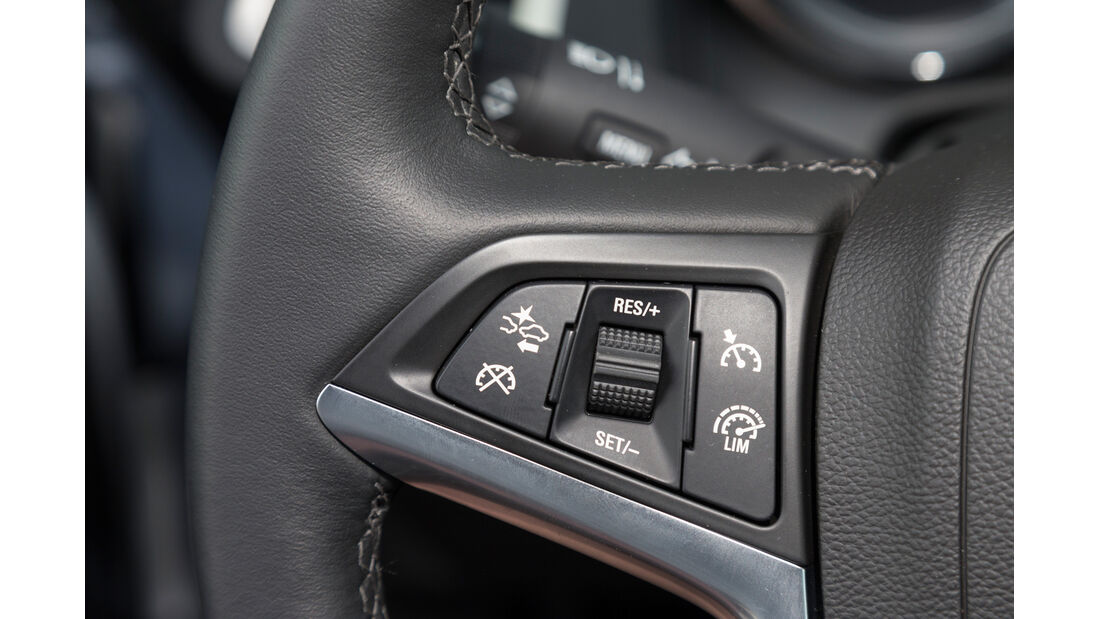 Opel Astra 1.6 SIDI Turbo, Lenkradschalter