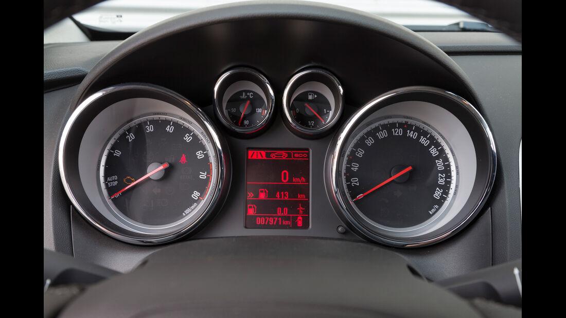 Opel Astra 1.6 SIDI Turbo, Rundinstrumente