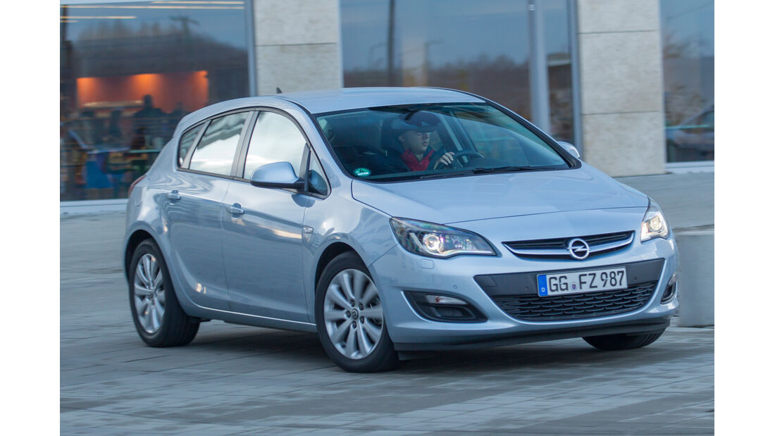 Opel Astra 1.6 Turbo Style, Frontansicht