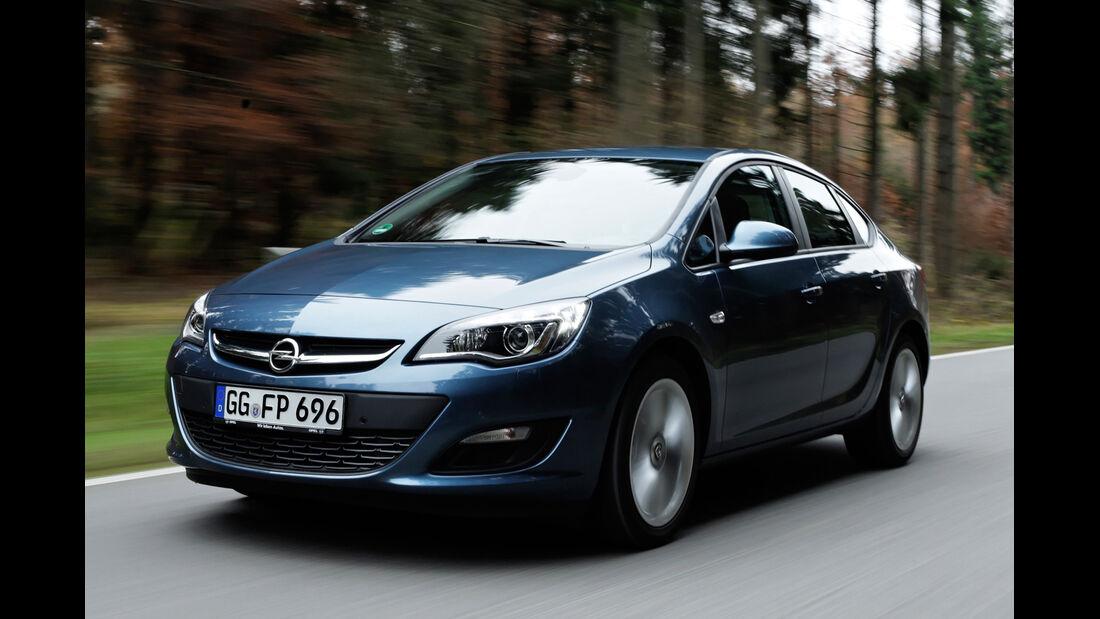 Opel Astra 1.7 CDTi Ecoflex, Frontansicht