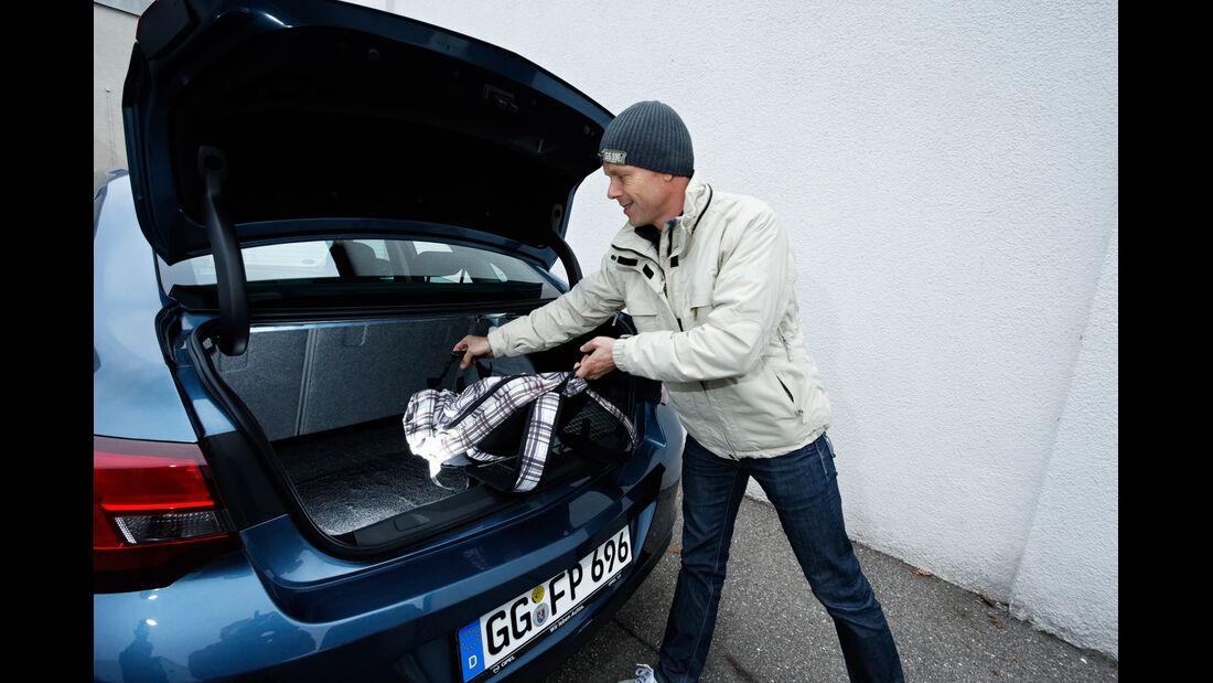 Opel Astra 1.7 CDTi Ecoflex, Kofferraum, Heckklappe