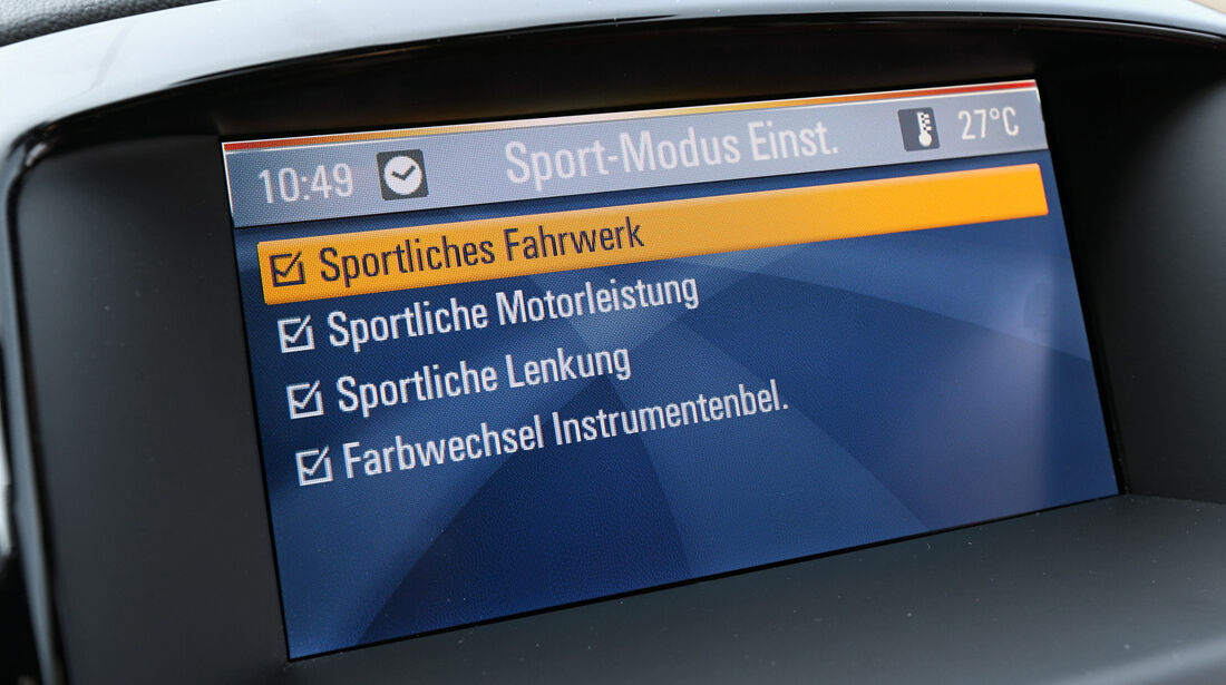 Opel Astra 2.0 CDTi BiTurbo, Monitor