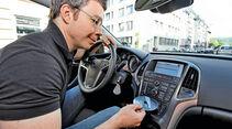 Opel Astra 2.0 CDTi, Cockpit, Dirk Gulde