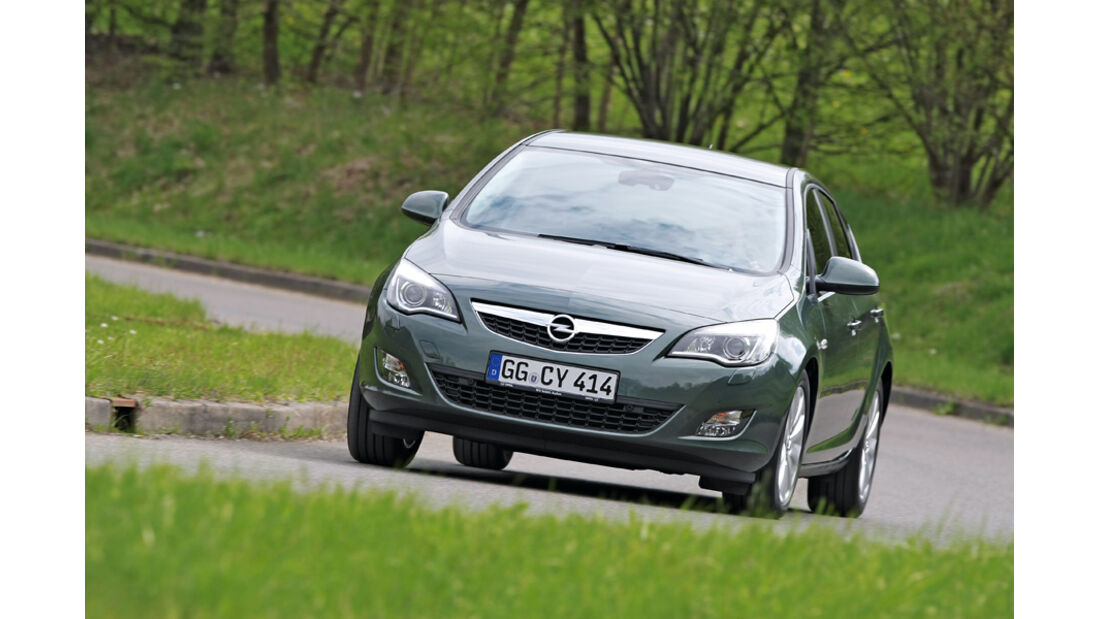 Opel Astra 2.0 CDTi, Frontansicht