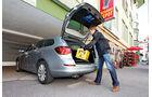 Opel Astra 2.0 CDTi, Kofferraum, Heckklappe