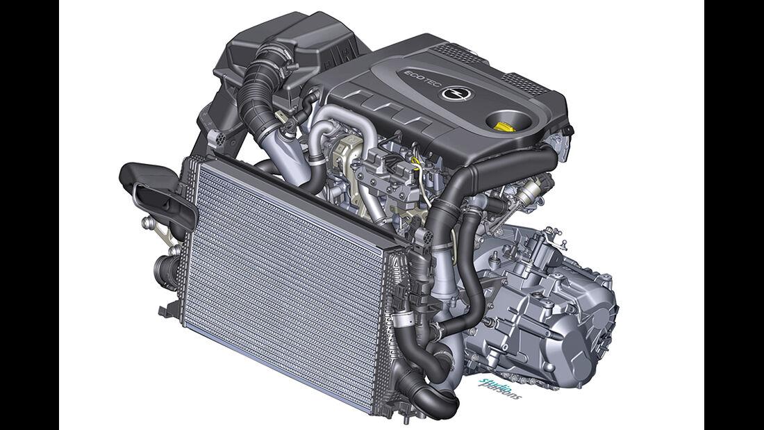 Opel Astra, Biturbo-Diesel