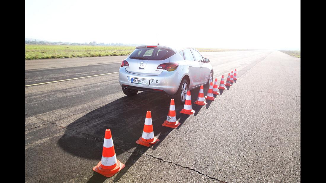 Opel Astra, Bremsen