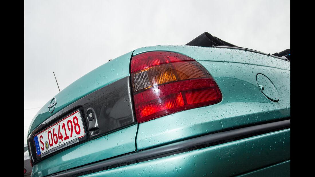 Opel Astra Cabrio 1.6i Bertone Edition, Heckleuchte