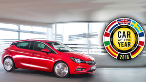 Opel Astra Car of the Year 2016