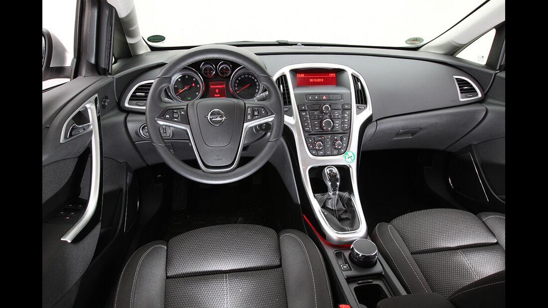 Opel Astra, Cockpit
