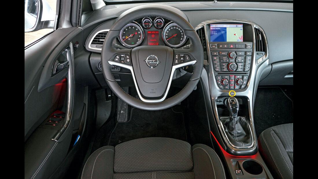 Opel Astra, Cockpit, Lenkrad