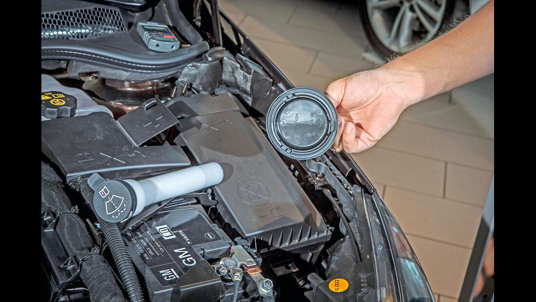 Opel Astra, Einfüllstutzen