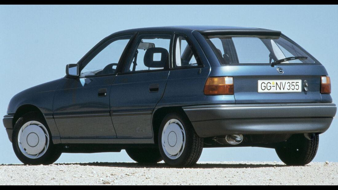 Opel Astra F 5-Türer Hatchback (1991) H-Kandidaten 2021