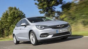 Opel Astra Facelift, Exterieur