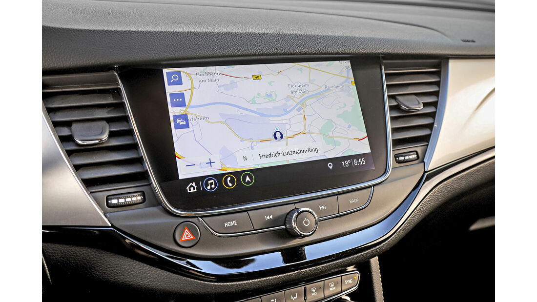 Opel Astra Facelift, Interieur