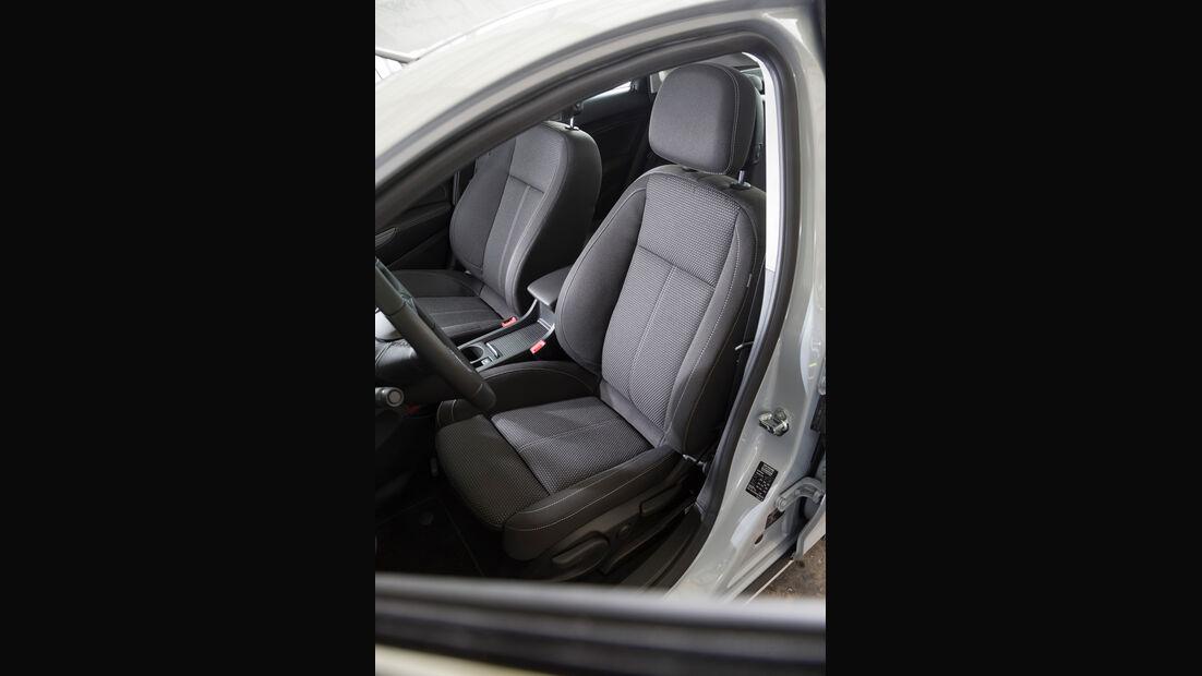 Opel Astra, Fahrersitz