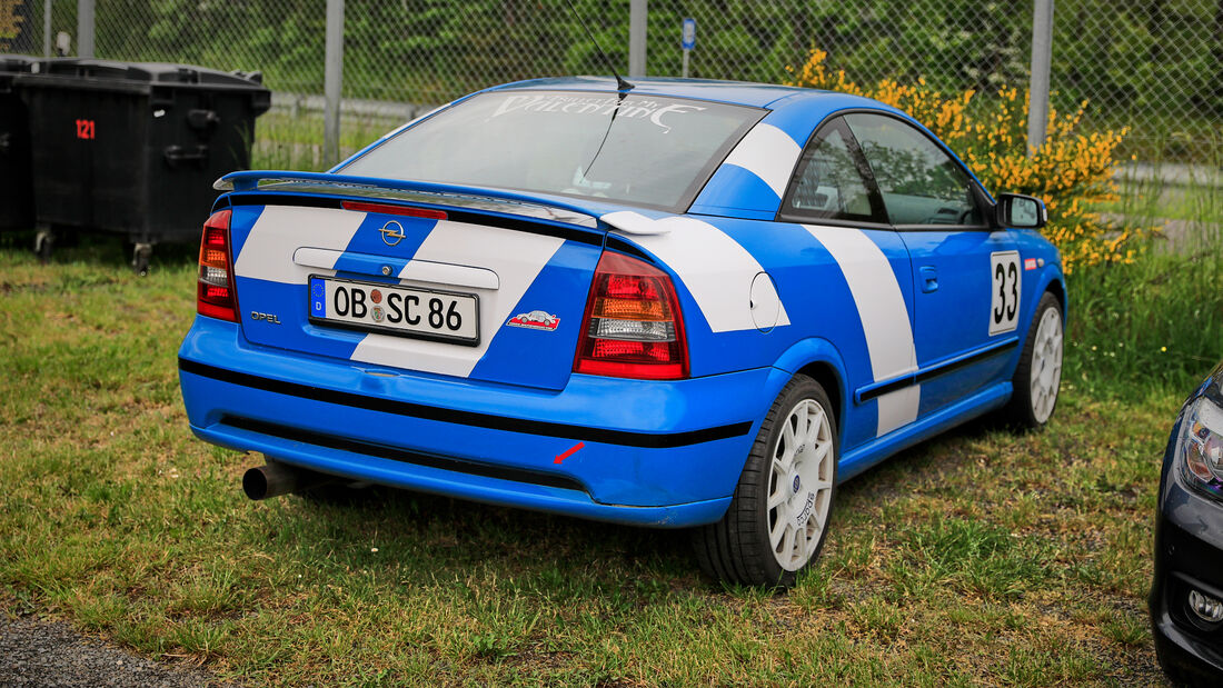 Opel Astra - Fanautos - 24h Rennen Nürburgring - Nürburgring-Nordschleife - 4. Juni 2021