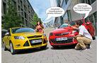 Opel Astra, Ford Fiesta