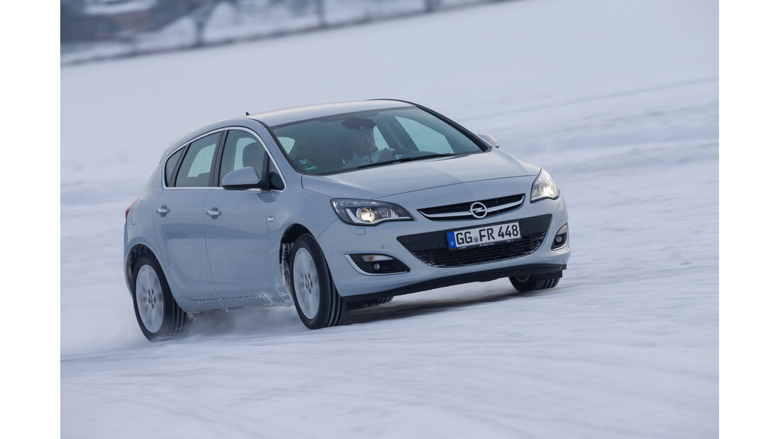 Opel Astra, Frontansicht
