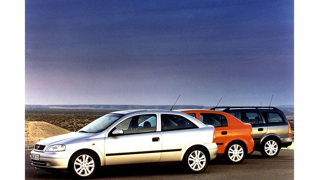 Opel Astra G, 1998-2002