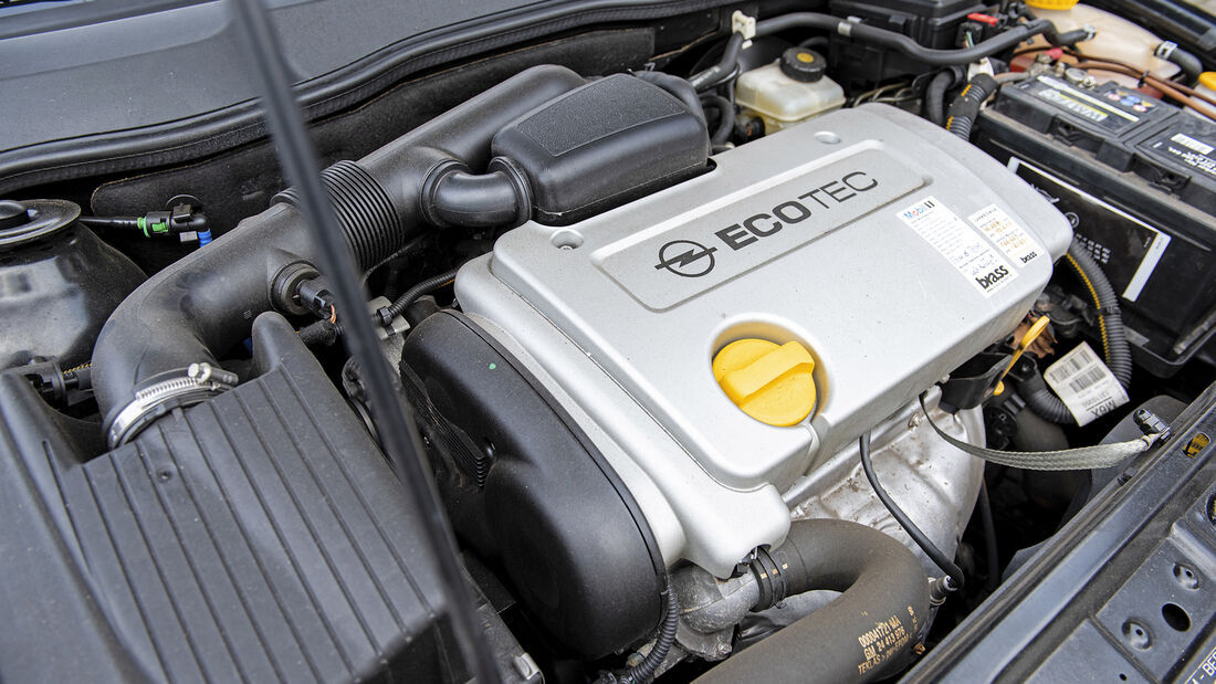 Opel Astra G Cabrio 1.6 16V, Motor