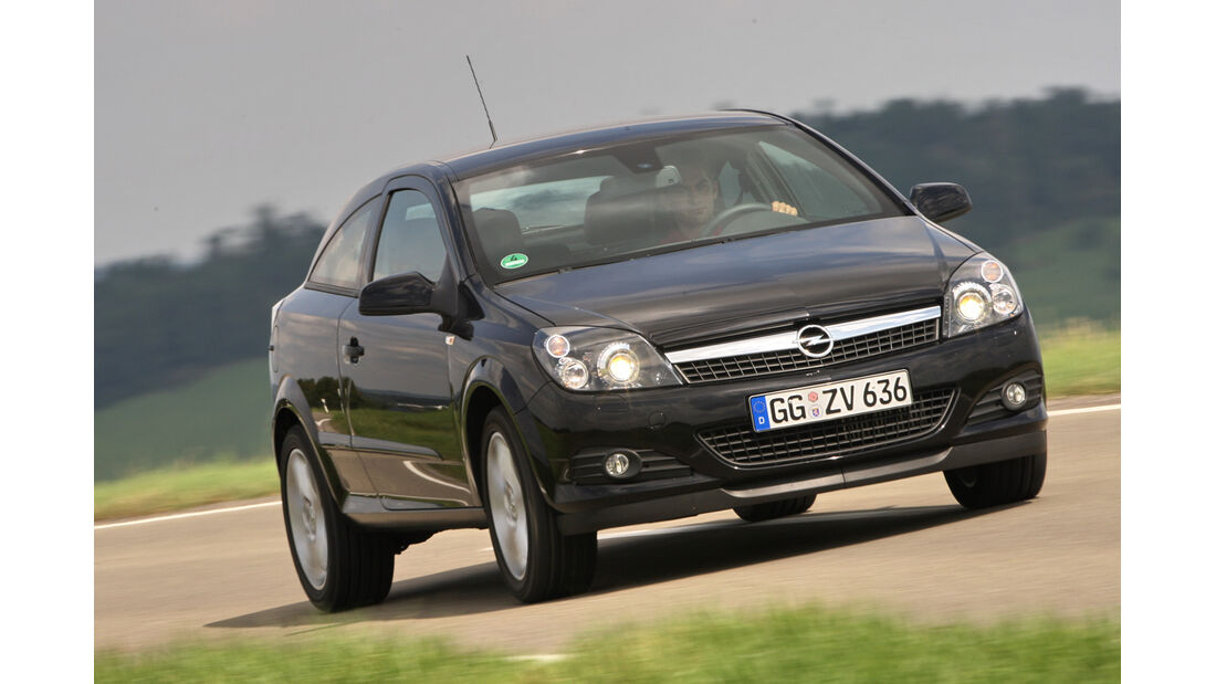 Opel Astra GTC 1.4, Frontansicht