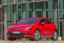 Opel Astra GTC 1.4 Turbo, Frontansicht
