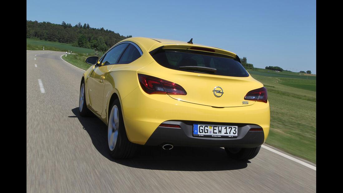 Opel Astra GTC 1.4 Turbo, Heckansicht