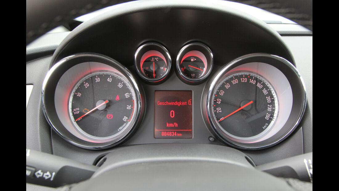 Opel Astra GTC 1.4 Turbo, Tacho, Rundinstrumente