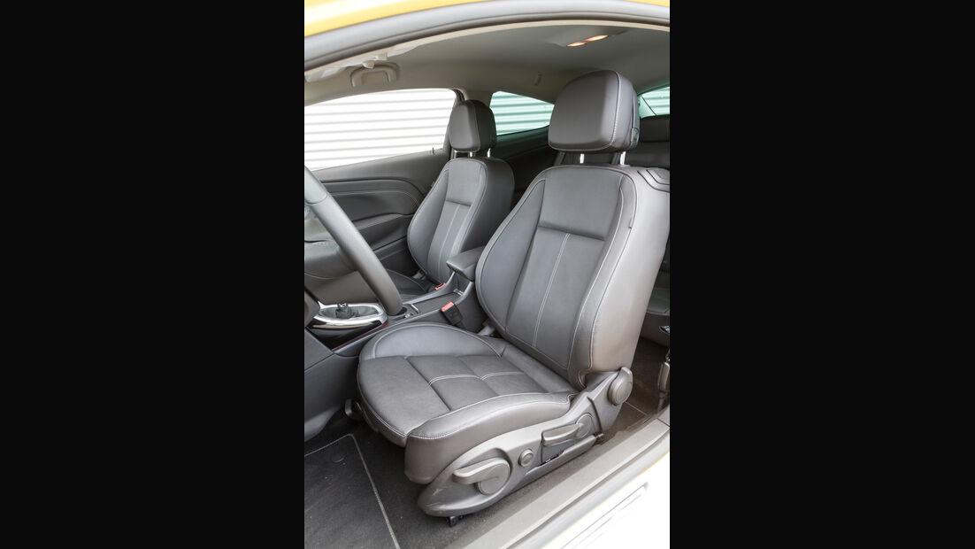 Opel Astra GTC 1.6 Turbo, Fahrersitz