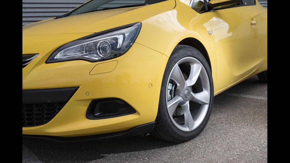 Opel Astra GTC 1.6 Turbo, Frontscheinwerfer, Rad