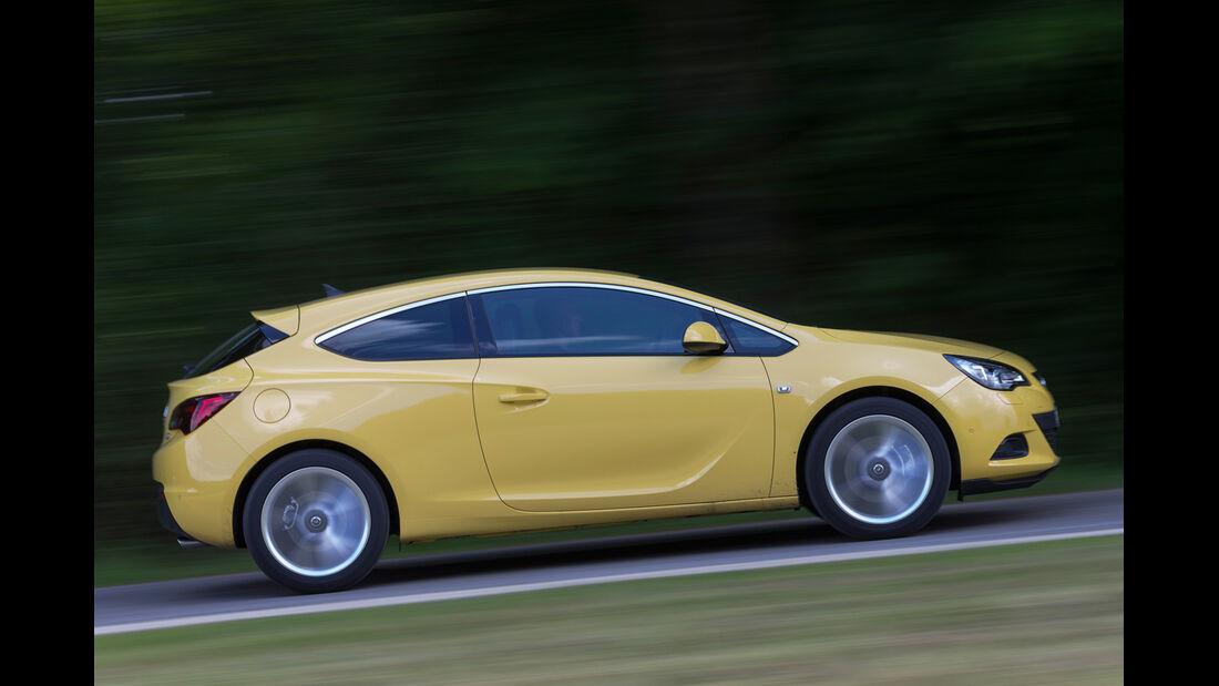 Opel Astra GTC 1.6 Turbo, Seitenansicht