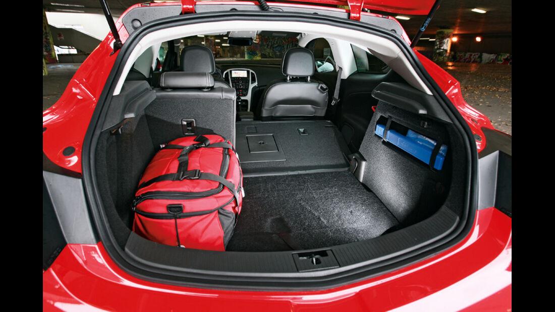 Opel Astra GTC 2.0 CDTi, Kofferraum