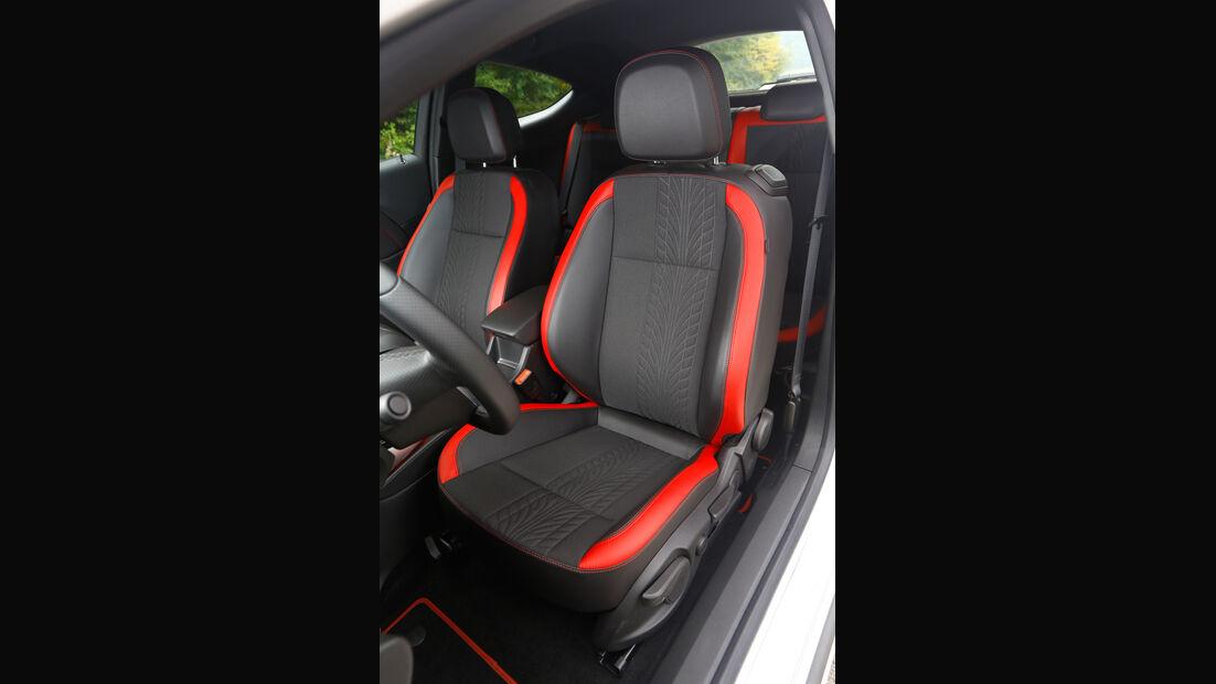 Opel Astra GTC Biturbo CDTI, Fahrersitz