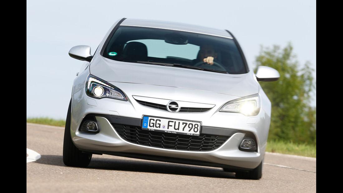 Opel Astra GTC Biturbo CDTI, Frontansicht