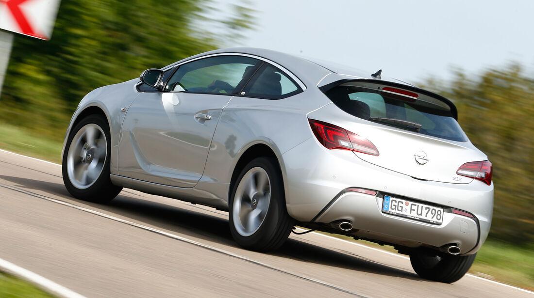 Opel Astra GTC Biturbo CDTI, Heckansicht