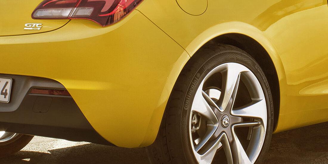Opel Astra GTC, Felge, Heck