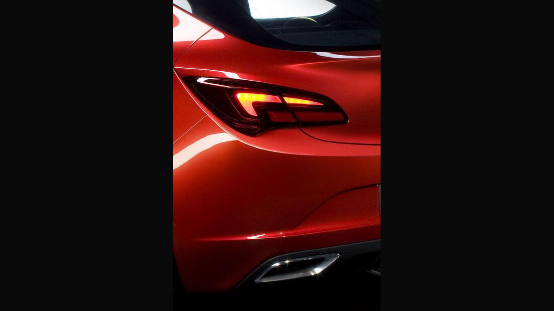 Opel Astra GTC, Heck