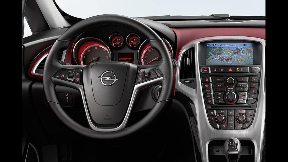 Opel Astra GTC, Innenraum, Cockpit, Lenkrad