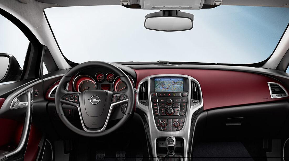 Opel Astra GTC, Innenraum, Cockpit