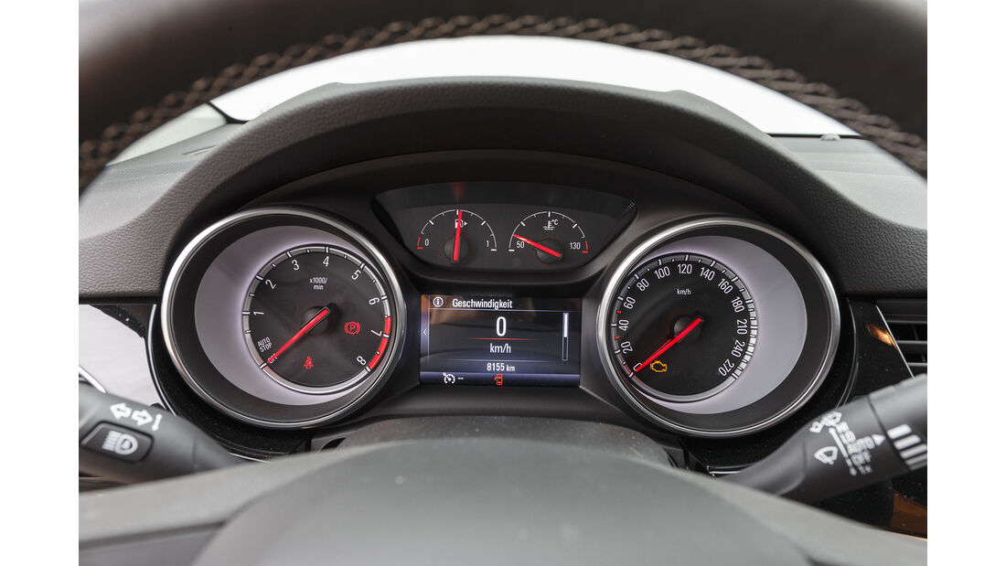Opel Astra, Interieur