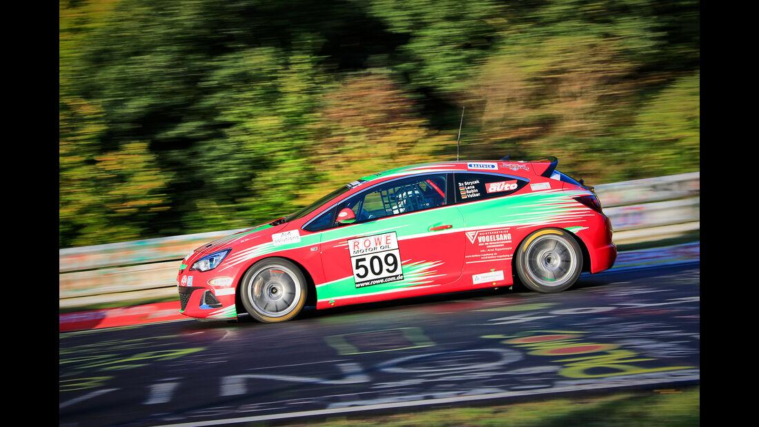Opel Astra J OPC - Startnummer #509 - Automobilclub von Deutschland - VT2 - VLN 2019 - Langstreckenmeisterschaft - Nürburgring - Nordschleife