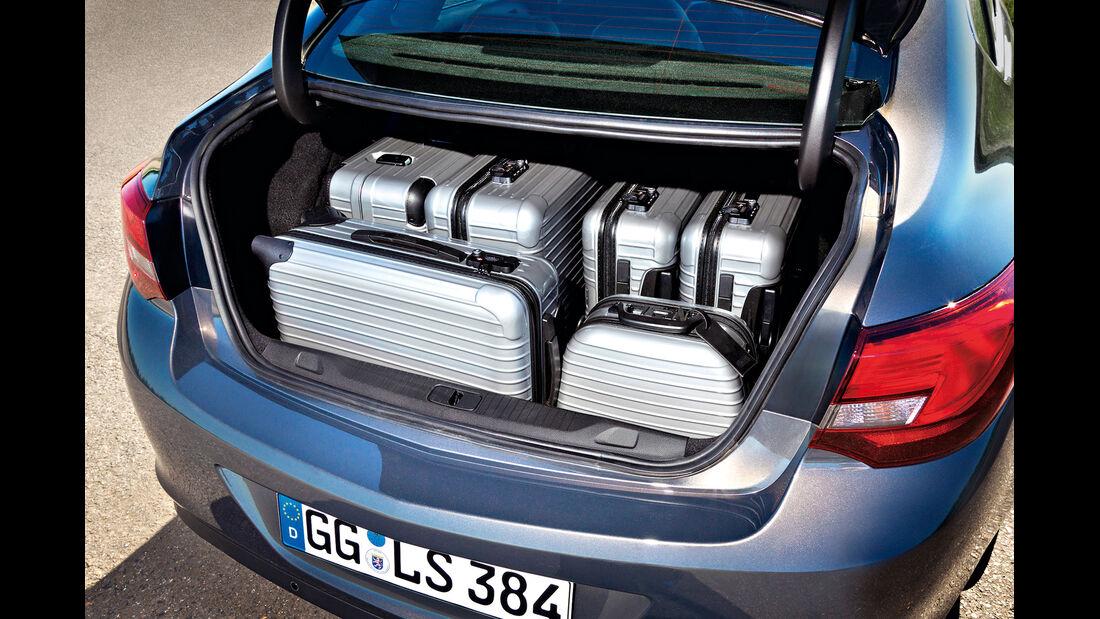 Opel Astra Limousine 1.7 CDTi Ecoflex Start/Stopp 99g Edition, Kofferraum