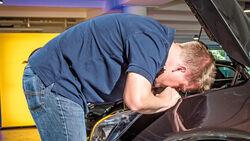 Opel Astra, Motorhaube