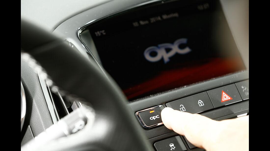 Opel Astra OPC, Bedienelemente