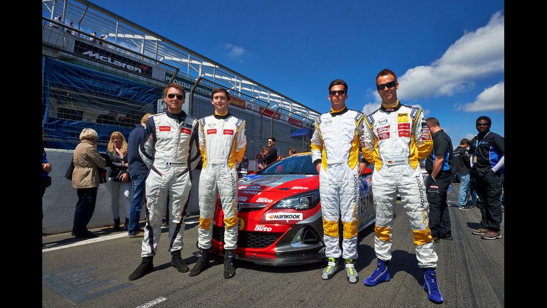 Opel Astra OPC - Christian Gebhardt - 24h-Rennen Nürburgring 2014 - 21.06.2014