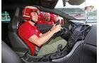 Opel Astra OPC, Cockpit, Fahrer