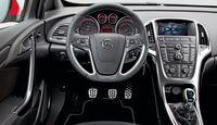 Opel Astra OPC, Cockpit, Lenkrad