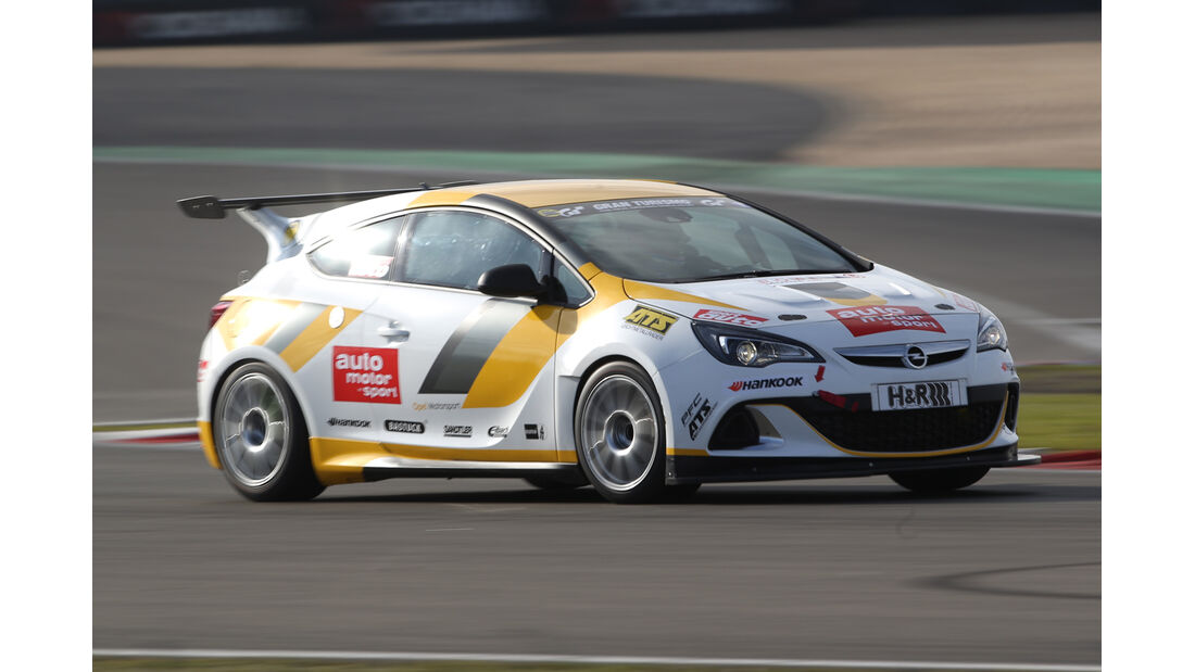 Opel Astra OPC Cup, Frontansicht